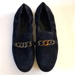Paul Green Suede Chain Loafer NWOT
